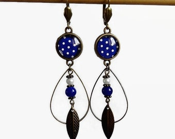 Lina Cavalieri bronze jewelry Earrings fleas Fornasetti Piero Fornasseti gift woman