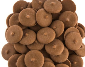 Salted Carmel Chocolate flavored candy wafers melts coco bombs
