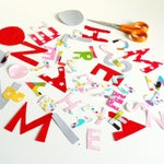 Optional personalization with name for the customizable items, price for one letter