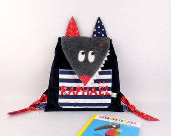 Baby mouse bag custom name Isabella nanny nursery kindergarten backpack girl gift birth baptism