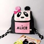 CAPUCINE panda backpack