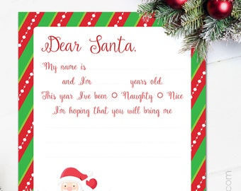 il_340x270.1019779288_7nah Official Personal Letter From Santa Template on north pole, writing paper, for office party,