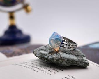 Pyramid Rings - Opalite ring