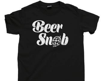 BEER SNOB T Shirt Craft Beer Triple IPA Hops Russian Imperial Stout Porter Saison India Pale Ale Belgian Tripel Sour Abv Ibu Homebrew Tee