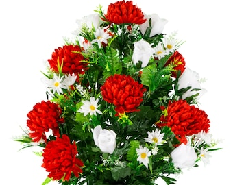 Cemetery Flowers Etsy