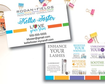Rodan and fields business cards etsy popular items for rodan and fields business cards colourmoves