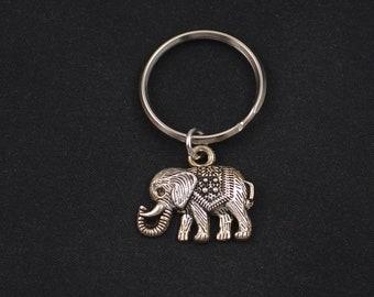 af5b600eb7b542 boho elephant keychain keyring