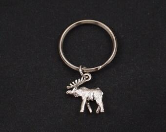 bull moose keychain 827a7e49f722