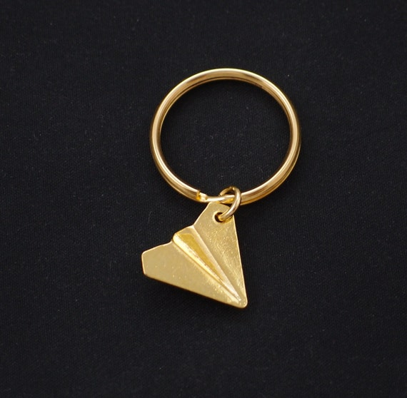 Paper airplane keychain Harry styles one direction keyring  8bbc5a044