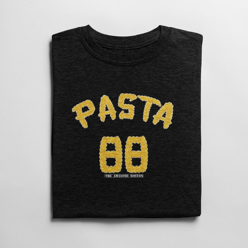 official photos ba931 ab05f David Pastrnak Pasta T Shirt