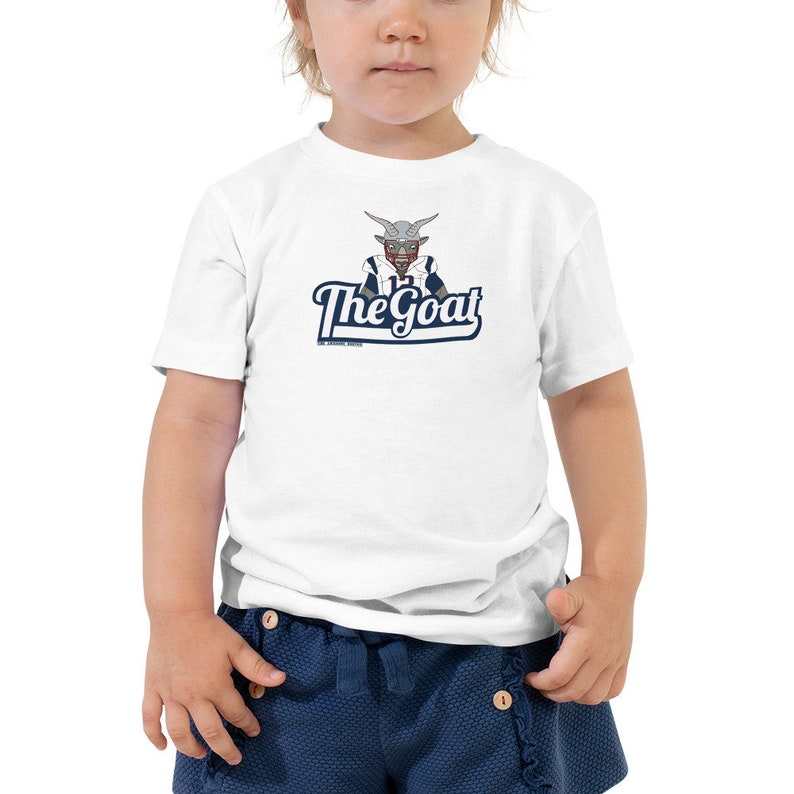 THE GOAT Tom Brady Toddler T Shirt 2T-5T  f4a461ace