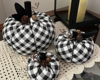 Fabric Pumpkins, Fall Pumpkins, Farmhouse