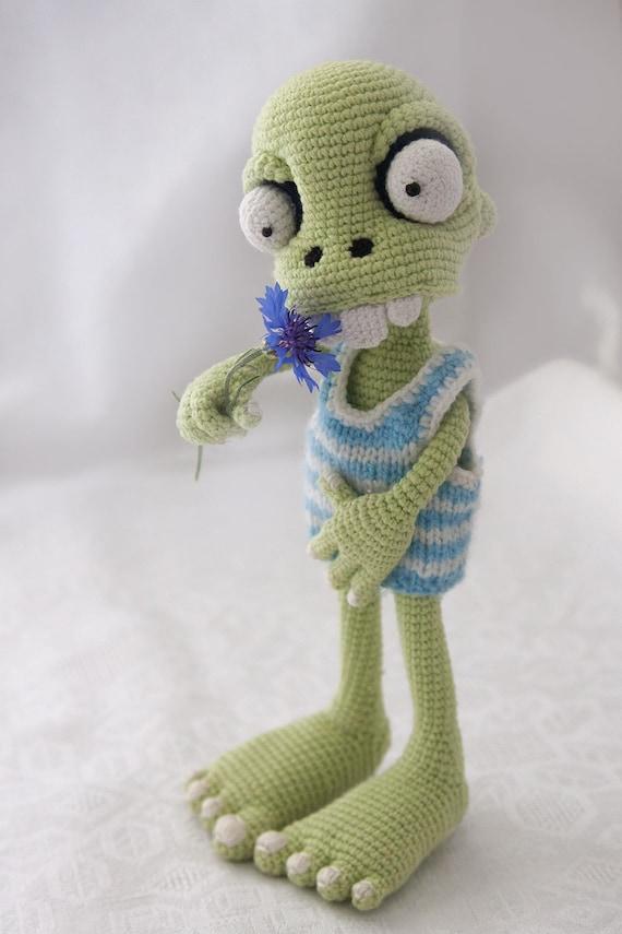 PATTERN Zombie boy crochet pattern amigurumi pattern pdf   Etsy