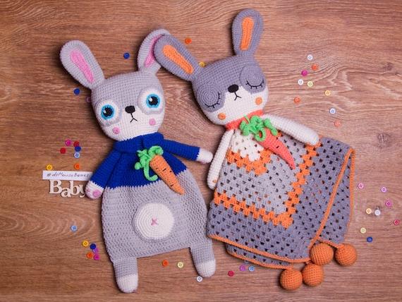 Ragdoll Spring Bunny Free Crochet Pattern • Spin a Yarn Crochet | 428x570