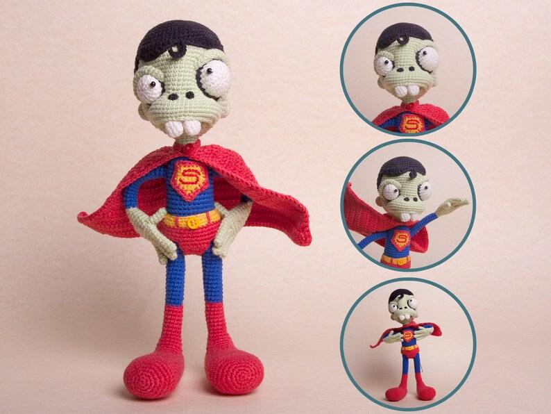 Finn's Pick: Frankie the Zombie – Crochet Amigurumi Pattern ...   596x794