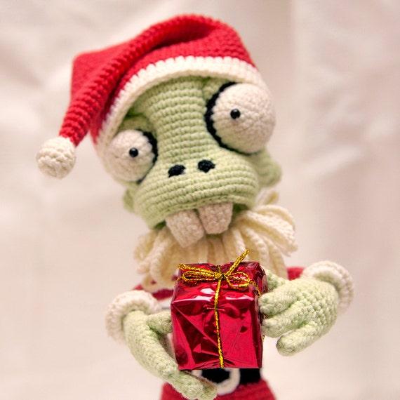 Pattern Zombie Santa Claus Crochet Pattern Amigurumi Etsy