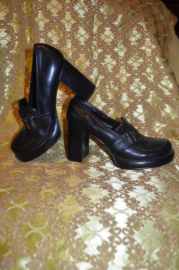 SALE!!! Genuine 90s Sketchers platform boots, size
