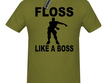 885b8c971 More colours. Floss Like a Boss t shirt ...