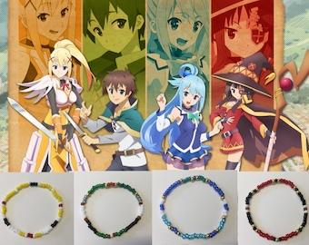 Konosuba Party: Friends Bracelet 4pc. Set