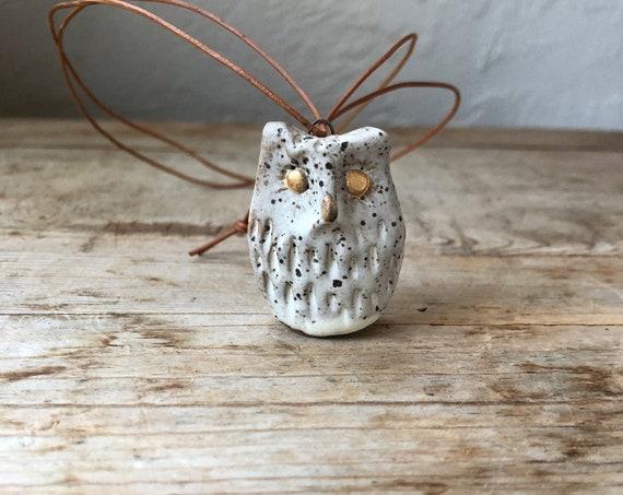 Owl Pendant #193