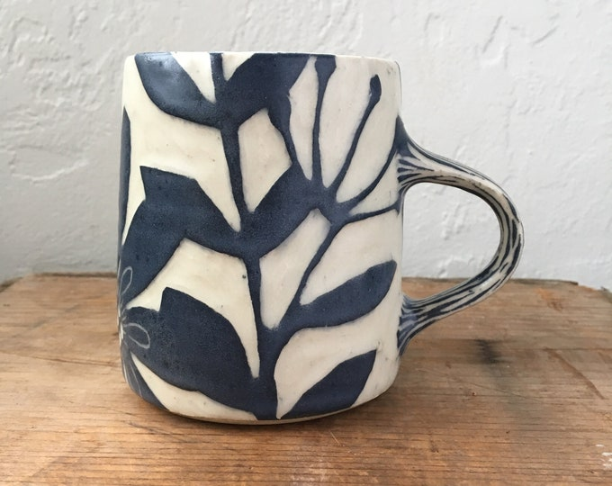 Featured listing image: Large Floral Mug