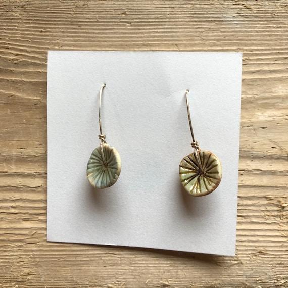 Ceramic Earrings #129