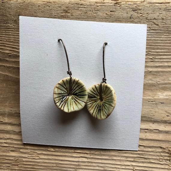 Ceramic Earrings #128
