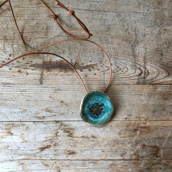 Turquoise Pendant #178