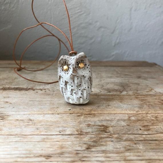Owl Pendant #189