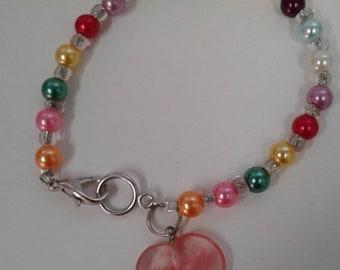The Candy Heart bracelet