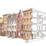 Boston Back Bay Building Section