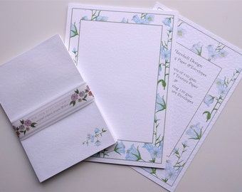 Writing Paper and Envelopes Set, Harebells Design