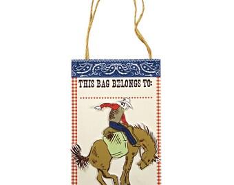Cowboy Party Bags | Cowboy Party | Party Bags | Cowboy Treat Bags | Paper Bags | 8 per pack