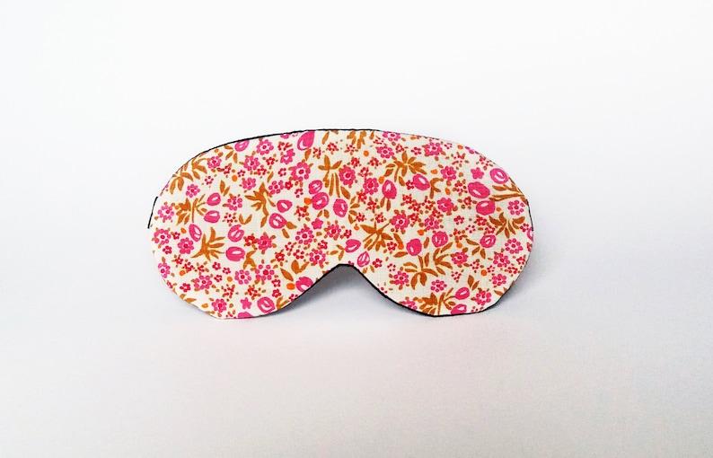 fc8042a9b Eye sleep mask Organic cotton eye pillow Floral eye mask