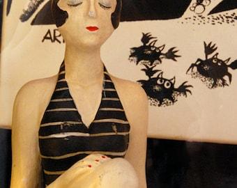 Color Photograph, Swimsuit Girl, Mannequin,  Stockholm Sweden,