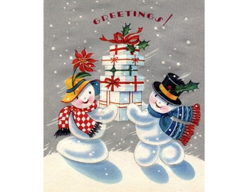 Christmas Presents Counted Cross Stitch Chart