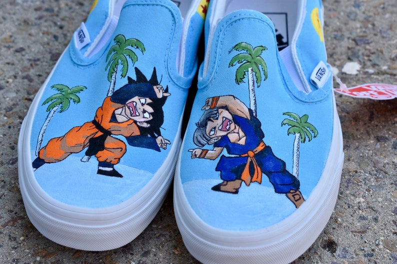 1beff15f9ab9 Dragonball Z Custom Hand-Painted Shoes    Vans or Standard
