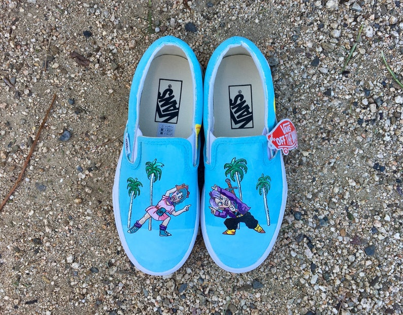 e37336f0a6a1 Dragonball Z Shoes Version 3    Custom Hand-Painted    Vans or