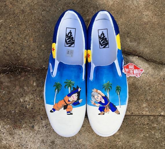 Dragonball Z Version 2 Schuhe Custom handbemalte Vans oder Standard Schuhe