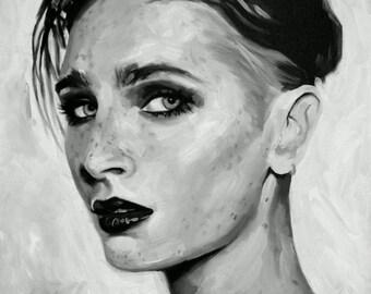 Charlotte Sartre Fine Art Print Porn Bdsm Goth Etsy