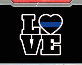 Love Police Decal