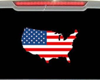 American Flag - USA Decal