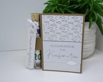 Money Gift Confirmation Communion Wish Filler Test Tube