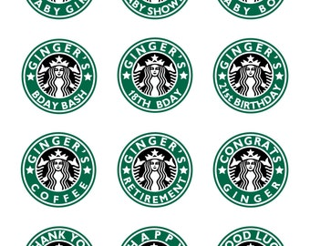 graphic about Starbucks Logo Printable called Starbucks get together Etsy