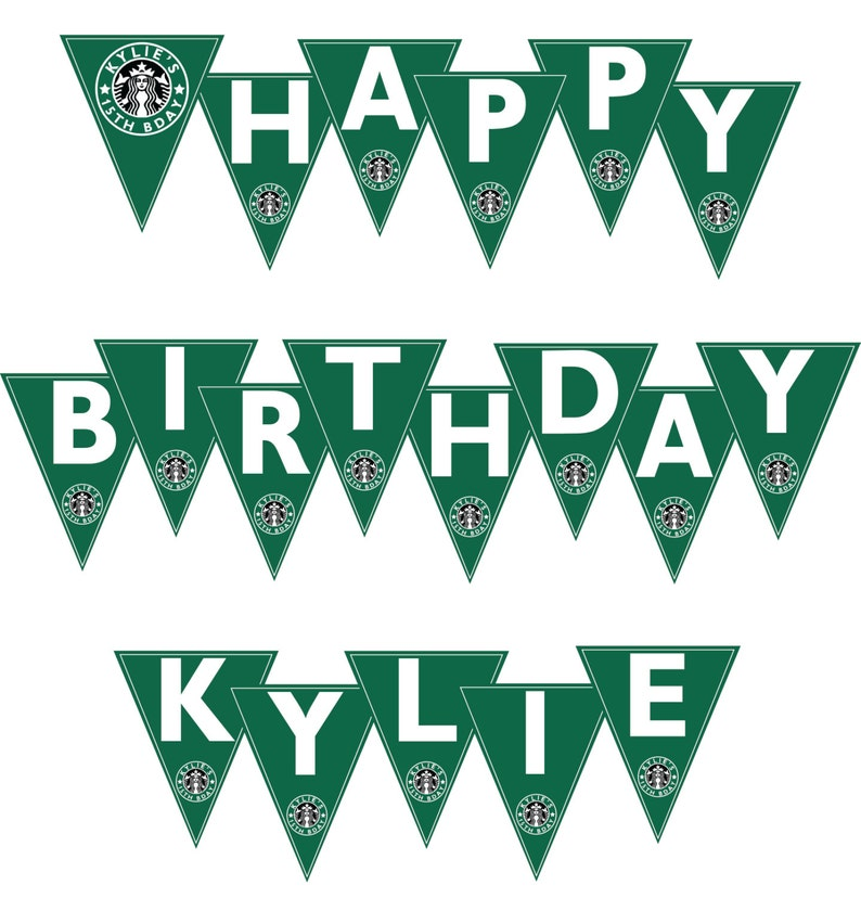 photograph relating to Starbucks Printable Application identified as Starbucks Banner! * Satisfied Birthday * Child * Marriage * Shower * Electronic * Sirens * Espresso * I Electronic mail, Your self PRINT