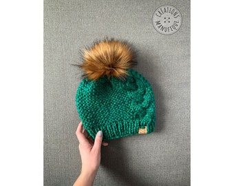 Twisted tuque - Fir