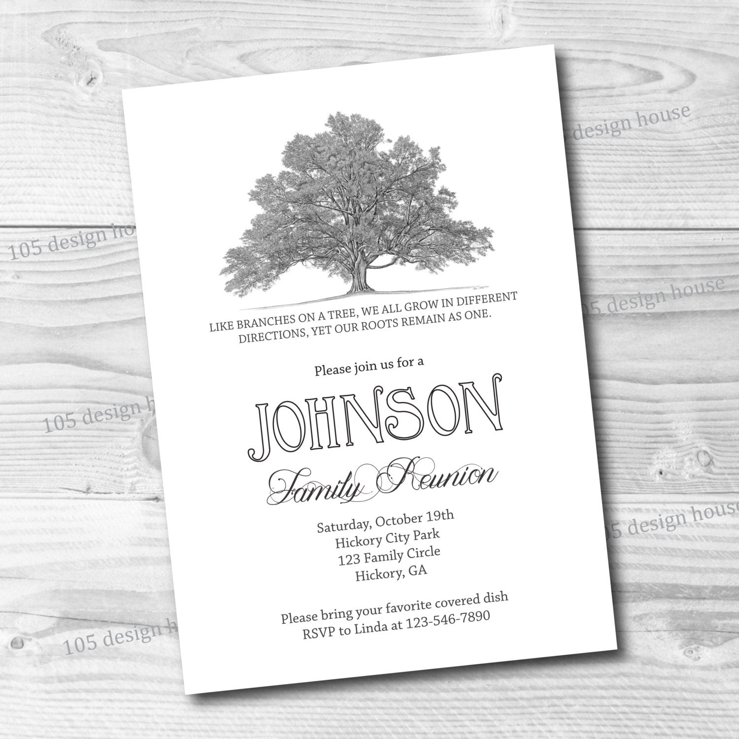 This is an image of Exhilarating Free Printable Family Reunion Invitations
