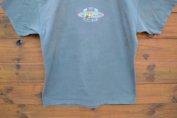 1999 bob Marley «Natural Mystic» T-Shirt vert foncé taille XL Rasta Weed Cannabis Rasta XL Reggae chansons de liberté guitare Afrique Afrika 64f0f1