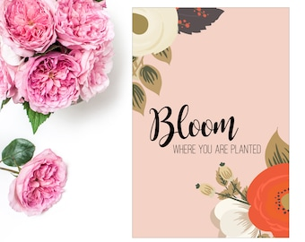 Bloom | COVER | Ringbound Planners
