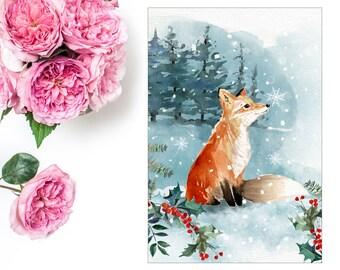 Woodland Wonderland Fox | COVER | Ringbound Planners